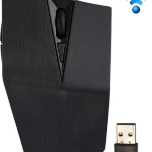 2.4GHz USB receiver adjustable 1200 DPI Wireless Optical Mouse for Computer PC Laptop (Gray)