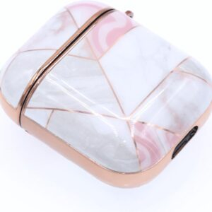 Airpods Case Hard Case Pink Marble