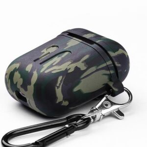 Airpods Case - Military Green - Airpods Case for Apple Airpods 1 and 2