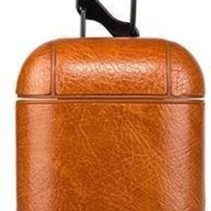 Airpods Leather Case - Cognac