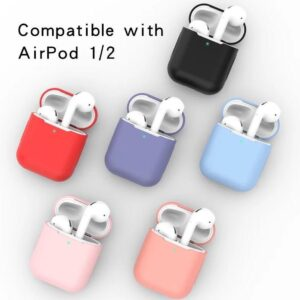 Airpods Silicone Case Cover Case for Apple Airpods 1/2