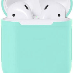 Airpods Silicone Case Cover Case for Apple Airpods 1/2 - Light Blue