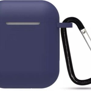 Airpods Silicone Sleeve Case -Dark Blue- Suitable for Apple AirPods