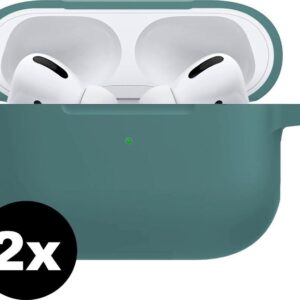 Cases For Apple AirPods Pro Case Silicone Case - Green Mignight - 2 PACK