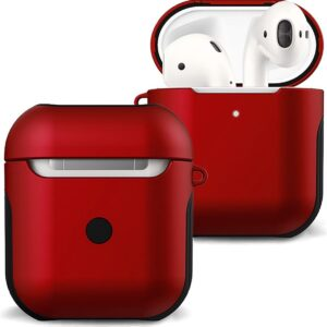 Cover For Apple AirPods Case 1 Case Hard Cover - Red