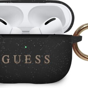 GUESS Silicone Cover Case Airpods Pro - Black