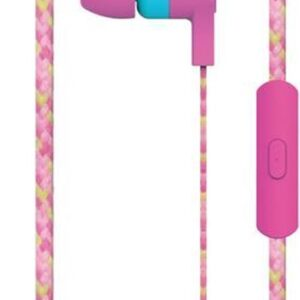 Maxell Cordz Earphone with microphone Color Pink