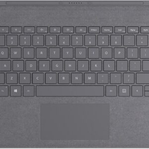 Microsoft Surface Pro Type Cover Gray - Keyboard - Qwerty