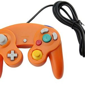 Orange Game Cube Style USB Wired Controller for PC and Mac Classic Nintendo