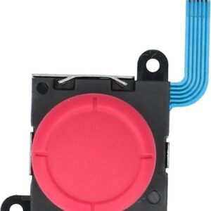 Replacement analog joystick for Nintendo Switch OEM Joy-con controller 3D button module - Red
