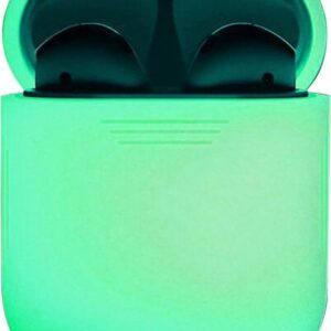 Silicone Case Cover for Apple AirPods 2 Case - Glow in the dark