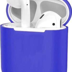 Silicone Case for Apple AirPods 2 Case Ultra Thin Case - Dark Blue