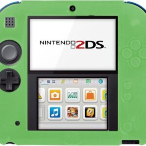 Silicone Protective Case Skin for Nintendo 2DS-Green