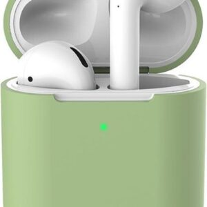 Silicone case   for airpods   pastel green