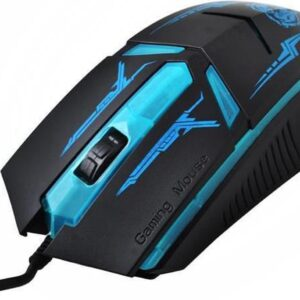 Wired LED Optical Game Mouse - Ergonomic USB Wired Gaming Mouse For PC / Laptop / Windows / Macbook - Left-handed / right-handed - Wired