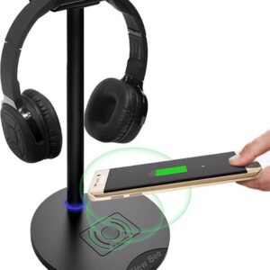 headset mode with wireless charger - headset holder - wireless charger