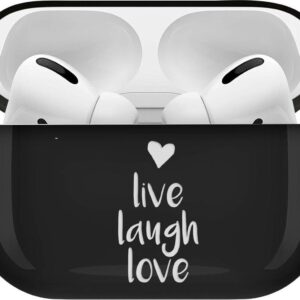 iMoshion Design Hardcover Case for AirPods Pro - Live Laugh Love